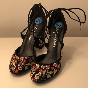 Embellished heels!